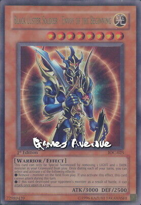 Yu-Gi-Oh ! Black Luster Soldier - Envoy of the Beginning IOC-025 - US/ULTRA 1st