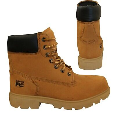 Timberland Pro Sawhorse 6 Inch Wheat  Mens Steel Safety Toe Boots A1I1Y B56E