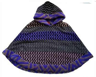 Missoni Girls Cape Shawl Knitted Jacket Poncho Wool Mohair Winter Age 8 y £295