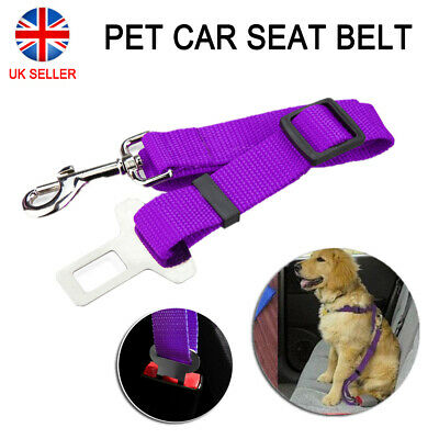 Dog Puppy Car Safety Seat Belt Pet Car Safety Harnesses Lead Restraint Strap NEW