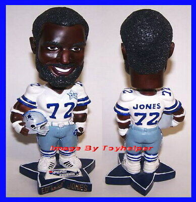 Ed Too Tall Jones Dallas Cowboys Football Bobblehead Pepsi Promo Bobble Head