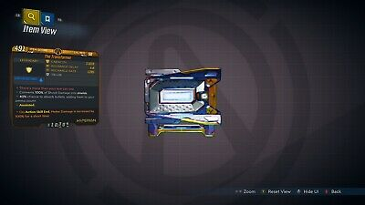 "Borderlands 3 ""The Transformer"" Anointed LVL 50 Shield XBOX ONE"