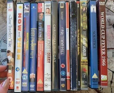 Joblot Of Dvds (PG /15/ 12, Used Includes A-Team, One Tree Hill And 1966 DVD
