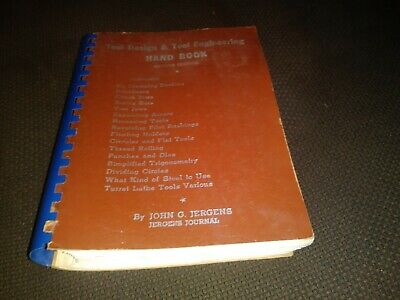 Tool Design & Tool Engineering Hand Book John G. Jergens