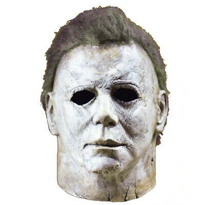 Michael Myers Mask Trick or Treat Halloween Studios Adult Latex Full Head Mask