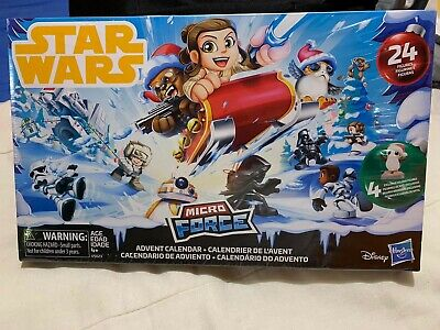 Star Wars Micro Force Advent Calendar disney
