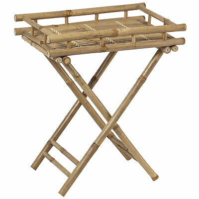 NEW Maya Bamboo Foldable Tray Table - The Home Collective,Kitchen & Butler Trays