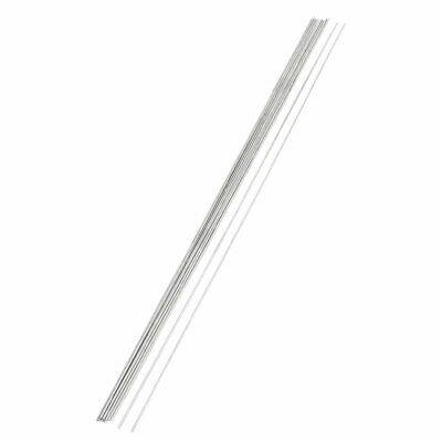 10Pcs RC Airplane Hardware Tool Stainless Steel Round Rod 500mm x 2mm