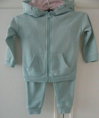 LIGHT BLUE WARM SET-HOODIE AND TROUSERS FIT 2 yrs GIRL'S/BOY'S