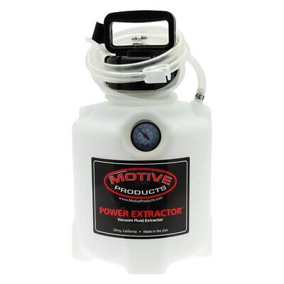 Motive Products 1715 6 qts. Vacuum Fluid Power Extractor System