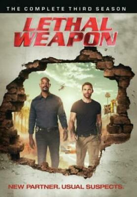 LETHAL WEAPON: COMPLETE THIRD SEASON (Region 1 DVD,US Import,sealed.)