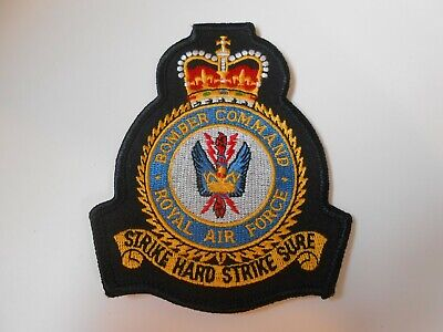 RAF Royal Air Force 11 IX Squadron Typhoon patch badge embroidered Coningsby