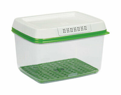 Rubbermaid Freshworks  17.3 cups Produce Keeper  2 pc.