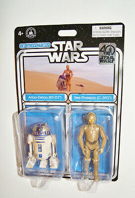 Star Wars 40th Anniversary R2D2 & C-3PO Droid Factory Disney Parks Exclusive