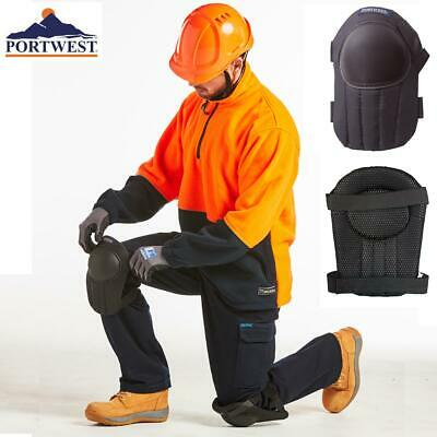 Portwest Lightweight Strapped Knee Pads Workwear Safety Protection Kit - KP20