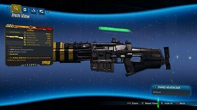 "Borderlands 3 ""Flakker"" Anointed LVL 50 Weapon GOD ROLL XBOX ONE"