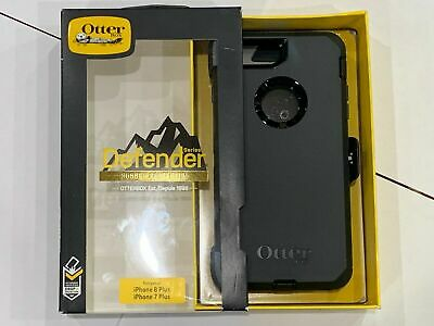 OtterBox Defender Cover For A pple i Phone 7 PLUS & i Phone 8 PLUS Case Black
