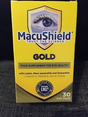 Macu Shield Gold Food Supplement Pack of 90 Capsules