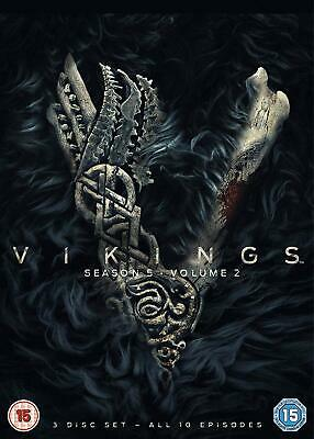 VIKINGS SEASON 5 VOLUME 2 New DVD Box Set / Free Delivery