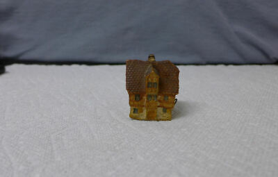 Vintage Germany ANTIQUE CLAY ~ HOUSE Cottage Tape Measure