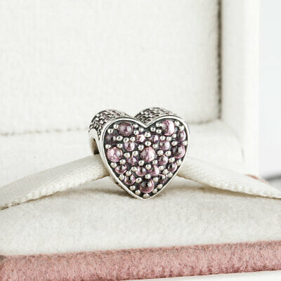 MOM Silver Puffy Heart Floating Charm for Memory Locket US seller fc322