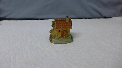 Vintage Germany ANTIQUE CLAY ~ Water Wheel Cottage House Tape Measure