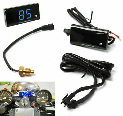 DC12V Digital Water Temperature Gauge Temp Meter Thermometer Motorcycle Scooter