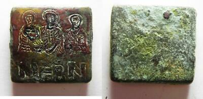 ZURQIEH -as13755- ROMAN-BYZANTINE BRONZE WIGHT OF 10 SOLIDII. VERY RARE!. 400 -
