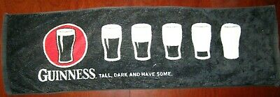 """Guinness: """"Tall, Dark and Have Some"""" Bar Towel Spill Mat Genuine Licensed"""