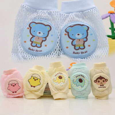 Baby Crawling Toddler Elbow Protect Pad Safety Knee Brace Cartoon Anti-slip