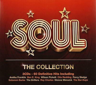 SOUL THE COLLECTION (2012) 60-track 3-CD NEW/SEALED Aretha Franklin