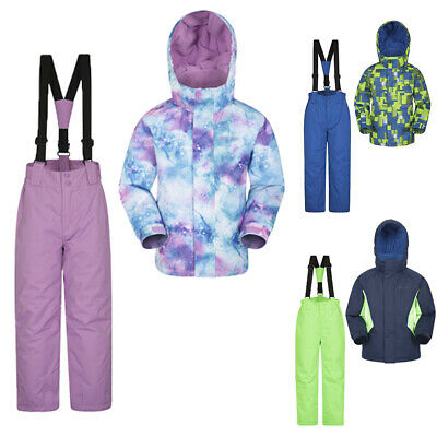 Mountain Warehouse Kids Ski Set Jacket & Pants / Trousers Boys Girls Package