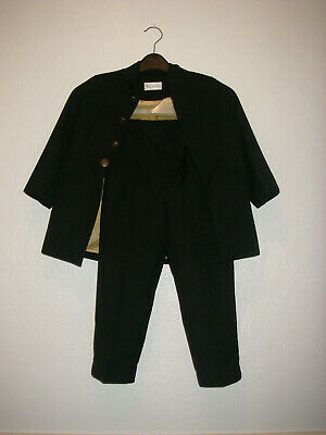 BHS 3-4 Years Boys Black Two Piece Outfit