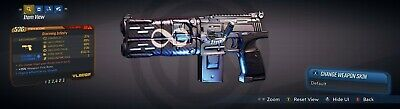 "Borderlands 3 Legendary Infinity Pistol""Storming Infinity"" LVL50 Weapon XBOX ONE"
