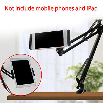 AU Flexible Arm Lazy Bed Desk Phone Stand Holder Mount For ipad Tablet Kindle