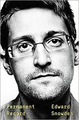 Permanent Record by Edward Snowden - Hardcover Book