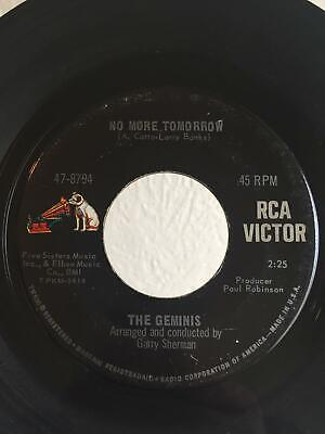 Northern Soul 45 The Geminis No More Tomorrow on RCA HEAR