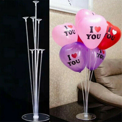 5 In 1 Plastic Balloon Accessory Base Table Aupport Holder Cup Stick Stand
