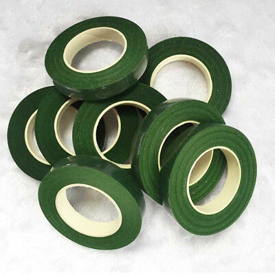 Green Brown Floral Tape Craft Florist Stem Wrap Flowers Wedding Party