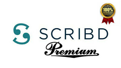 Scribd premium Account books 1 Year full Warranty & support - Instant Delivery