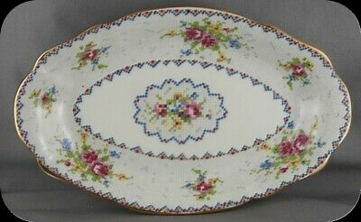 Royal Albert Petit Point Regal Tray England