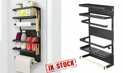 MAGNETIC REFRIGERATOR HANGER Rack Spice Holder Storage ...