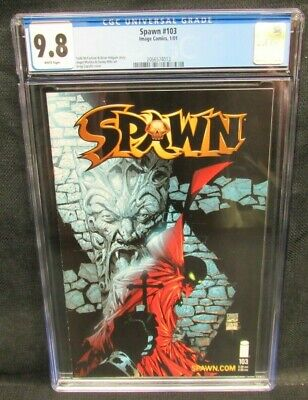 Spawn #103 (2001) Greg Capullo Cover Image CGC 9.8 White Pages V490