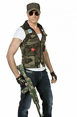 Men's Shirt Army Vest and Cap (58)