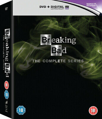 Breaking Bad The Complete Series DVD Box Set NEW