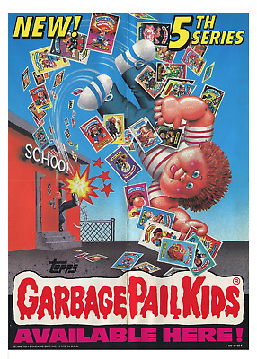 GARBAGE PAIL KIDS CHARACTER COLLAGE POSTER 22x34-17162