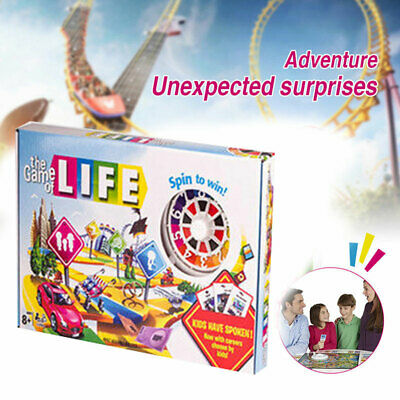 Newest Edition The Game of Life Board Game Fun Party Kids Family Interactive HOT