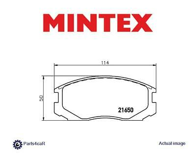 MDB1500 M1155 MINTEX Brake Pad Set disc brake front
