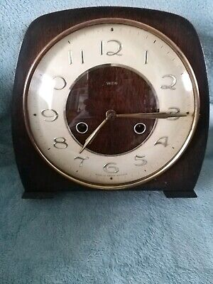 A Vintage Smiths Of Enfield Dome Mantel Clock