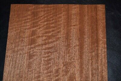 Sapele Raw Wood Veneer Sheets  7.5 x 37 inches   1/42nd                 G7633-13